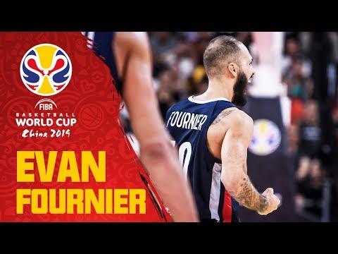 Evan Fournier's 22 PT performance vs. Team USA! - FIBA Basketball World Cup 2019