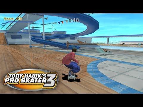 Let39s Play Tony Hawk39s Pro Skater 3 Part 9  Cruise Ship