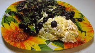 Картофельно-Яичный Салат «Змея» видео рецепт