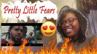 Mom reacts to 6LACK - Pretty Little Fears ft. J. Cole (Official Music Video) | Reaction
