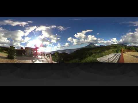 Arenal volcano 360 video 4K & VR
