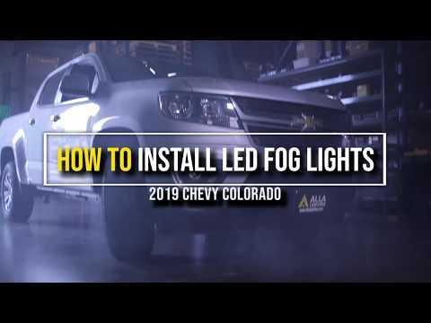 How to Replace | Install 2015 – 2020 Chevy Colorado fog light w/ LED?