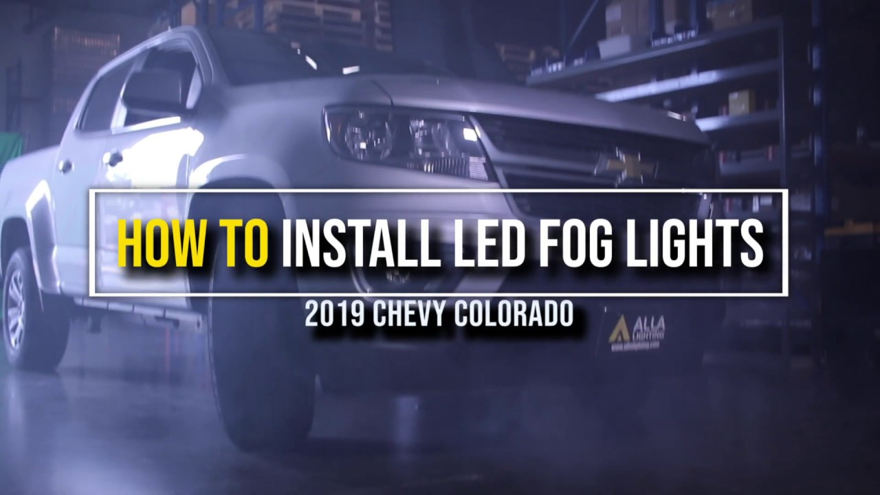 How to Replace | Install 2015 - 2020 Chevy Colorado fog light w/ LED? -  YouTubeYouTube