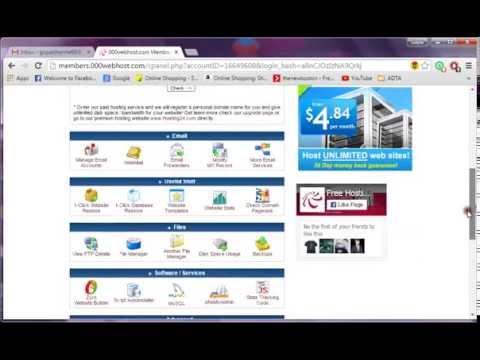 Хостинг домен php mysql бесплатно размещение информации на сервере хостинга