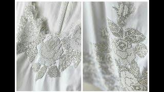 Мое вышитое бисером свадебное платье от Барвиста Вышиванка. Часть 1