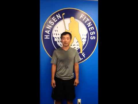 Ike Choi at Hansen Fitness for Golf (Korean and English)