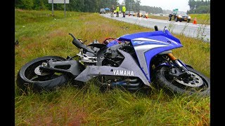 Motorcycle Crashes Compilation 2017 Part 2