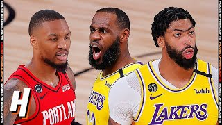 Portland Trail Blazers vs Los Angeles Lakers - Full Game 2 Highlights | August 20, 2020 NBA Playoffs