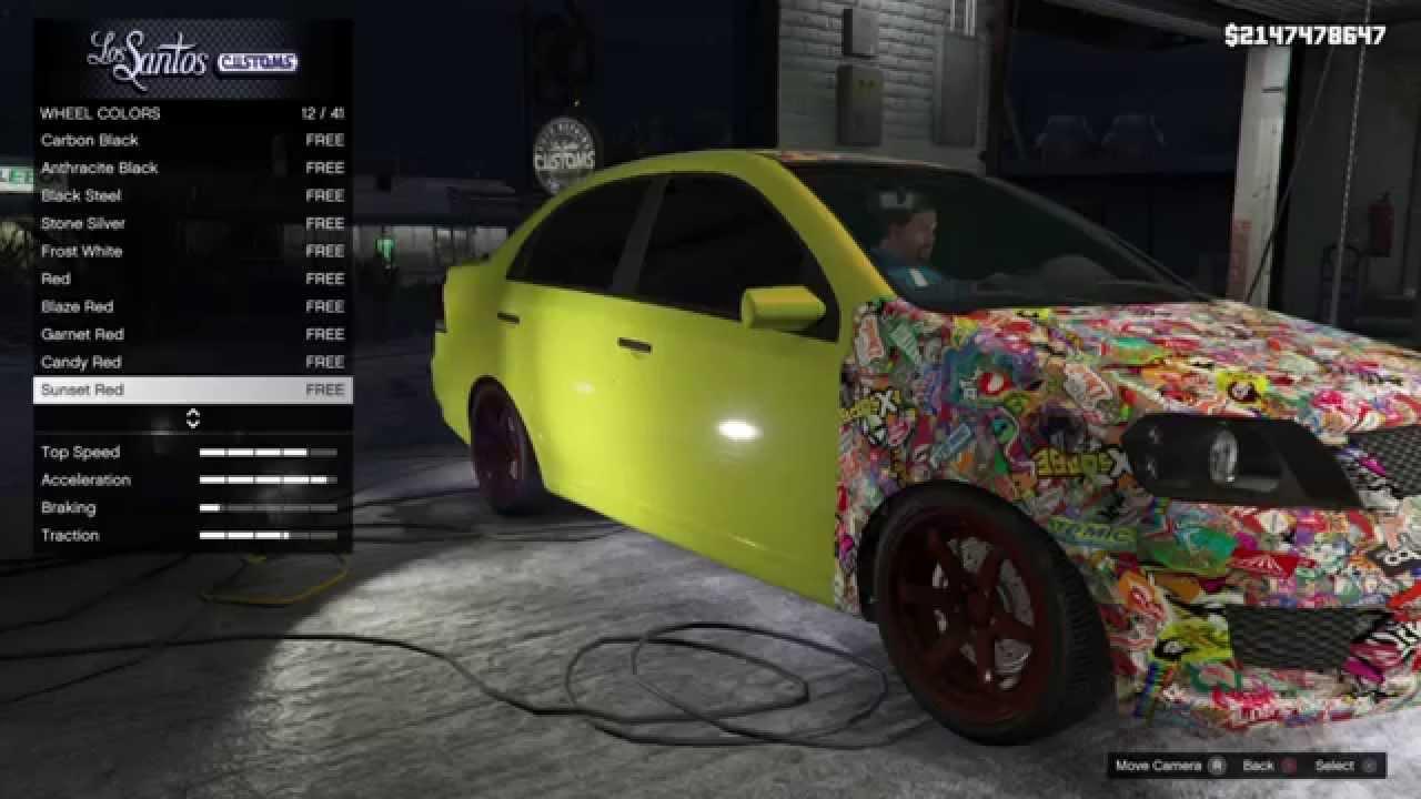 GTA 5 PS4 - Declasse Asea Customization - YouTube