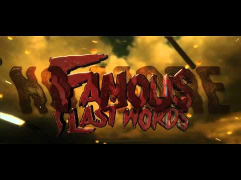 Famous Last Words - The Uprise (Official Lyric Video)
