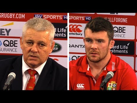New Zealand vs Lions - First Test - Warren Gatland & Peter O'Mahony Full Post Match Press Conference
