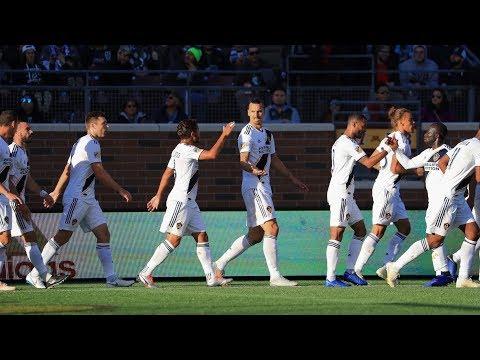 GOAL: Zlatan Ibrahimović scores 22nd MLS goal against Minnesota United FC