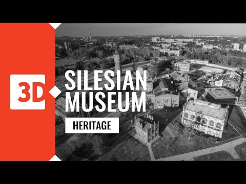 Katowice - Silesian Museum - general plan