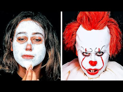 23 EASY YET COOL DIY HALLOWEEN MAKEUP AND COSTUME IDEAS thumbnail
