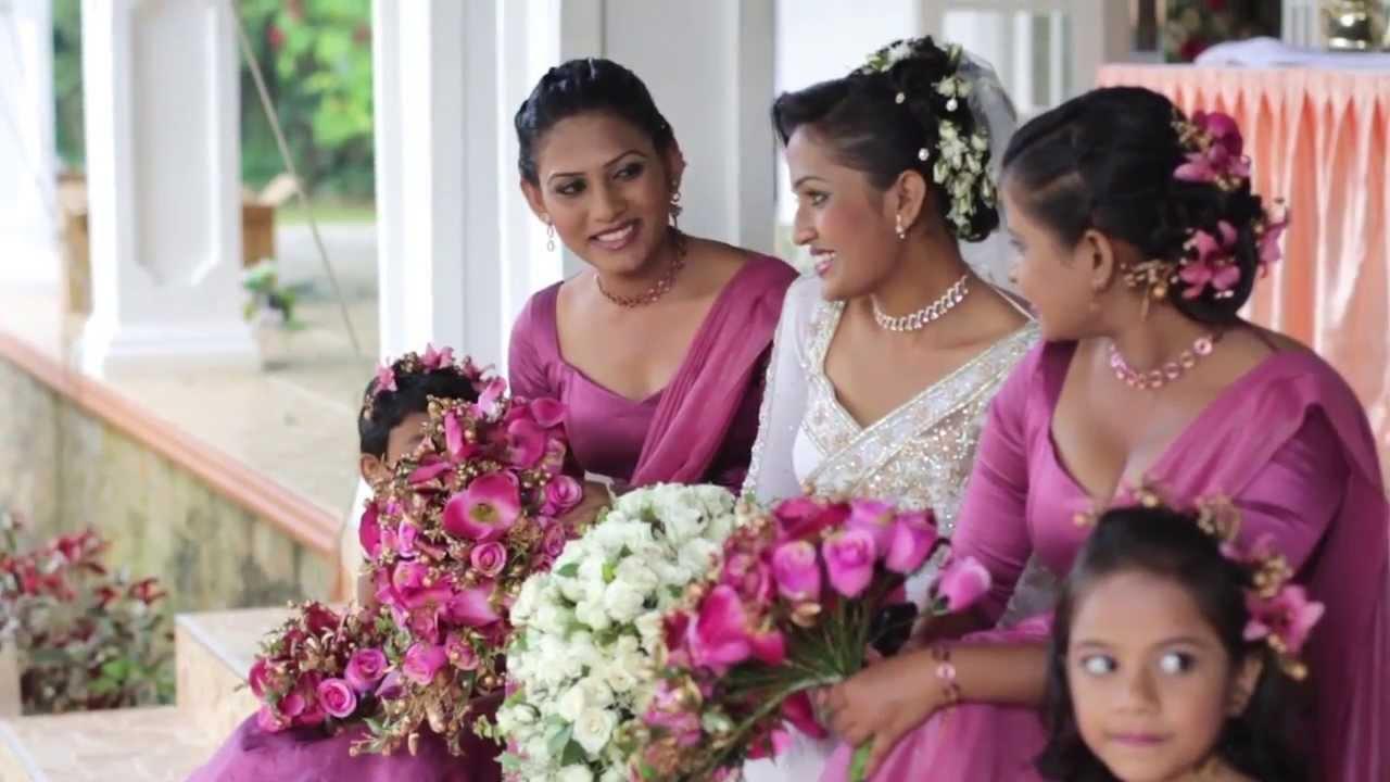 Our Wedding Hansaki & Namal - YouTube