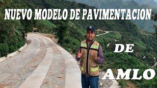 """Avances del programa  del gobierno federal """"pavimentación a  los pueblos indígenas Temaxcalapa"""