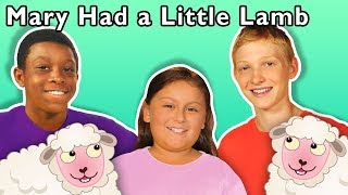 Mary Had a Little Lamb + More | Mother Goose Club Playhouse Songs & Rhymes