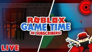 🔴 ROBLOX GAME TIME | 3K SUBSCRIBERS! | ROBLOX LIVE 🔴