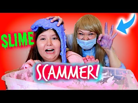 SLIME SCHOOL SCAMMER! ~First Day at Slime School Funny Slime Skit
