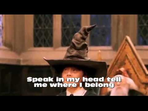 Sorting Hat Karaoke Activity
