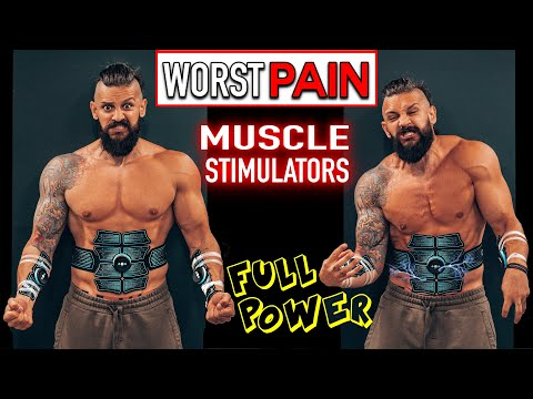 the-worst-pain-|-wearing-full-power-muscle-stimulators-while-making-breakfast-|-do-they-hurt?!