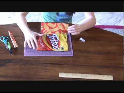 How to Make a Chip Bag Duct Tape Wallet thumbnail