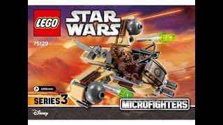 LEGO® Star Wars 75129 Боевой корабль Вуки. Инструкция по сборке
