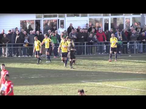 Gosport Borough 2 Havant & Waterlooville 0 - FA Trophy Semi Final highlights