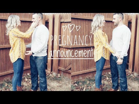 Telling My Husband & Family I'm Pregnant