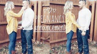 Telling My Husband & Family I'm Pregnant