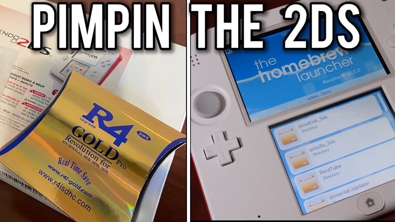 Pimpin' out a $50 Refurbished Nintendo 2DS in 2021 | MVG