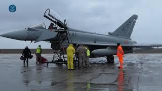 NATO's Air Policing over Romania: Spanish Air Detachment Paznik