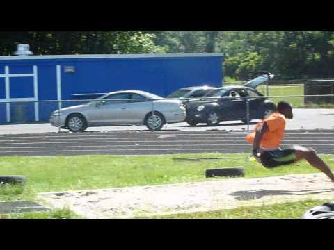 Triple Jump Training - 6 stride, 16.40m+ [Samyr La...