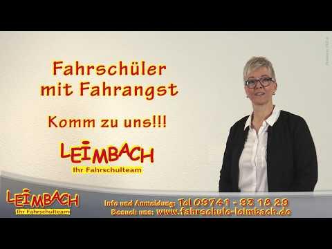 Fahrschüler mit Fahrangst Fahrschule Leimbach Bad Kissingen Bad Brückenau