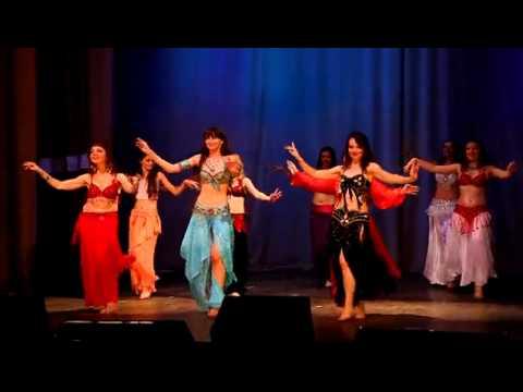 видео современного восточного танца