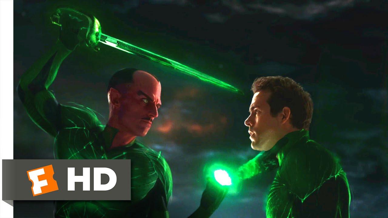 tanie z rabatem najniższa cena ekskluzywne oferty Green Lantern - Sinestro vs. Hal Jordan Scene (5/10) | Movieclips