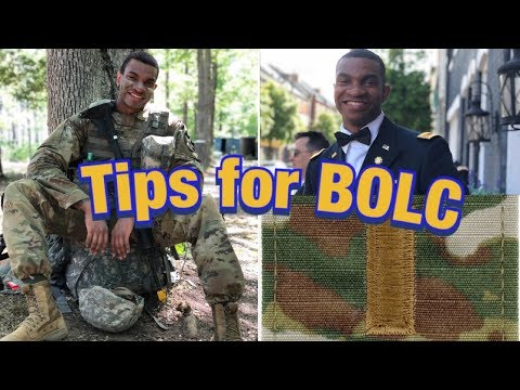 TIPS FOR BOLC| BASIC OFFICERS LEADERSHIP COURSE