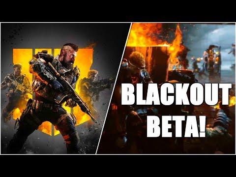 "NEW BO4 Battle Royale ""BLACKOUT"" Beta LEAKED by EB Games?"