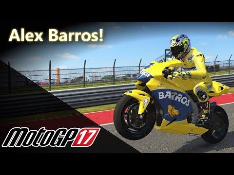 ALEX BARROS de Honda RC211V! | MotoGP 17 [PT-BR]