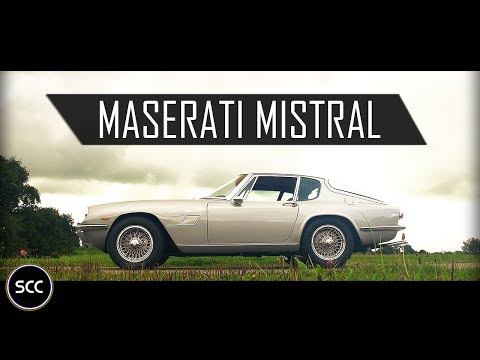 MASERATI MISTRAL COUPÉ 1967 - Test drive in top gear - I6 Engine sound | SCC TV