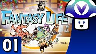 [Vinesauce] Vinny - Fantasy Life (part 1) + Art!