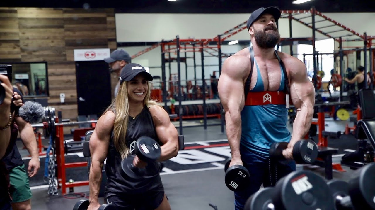 TRAINING ARMS WITH THE WORLDS STRONGEST GIRL!