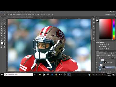 super popular 57573 73fa7 Photoshop Speed Art: Jersey Swap Richard Sherman (Seahawks to 49ers)