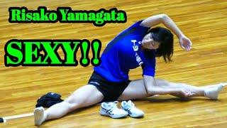 SEXY!! Risaku Yamagata || player volleyball japan...