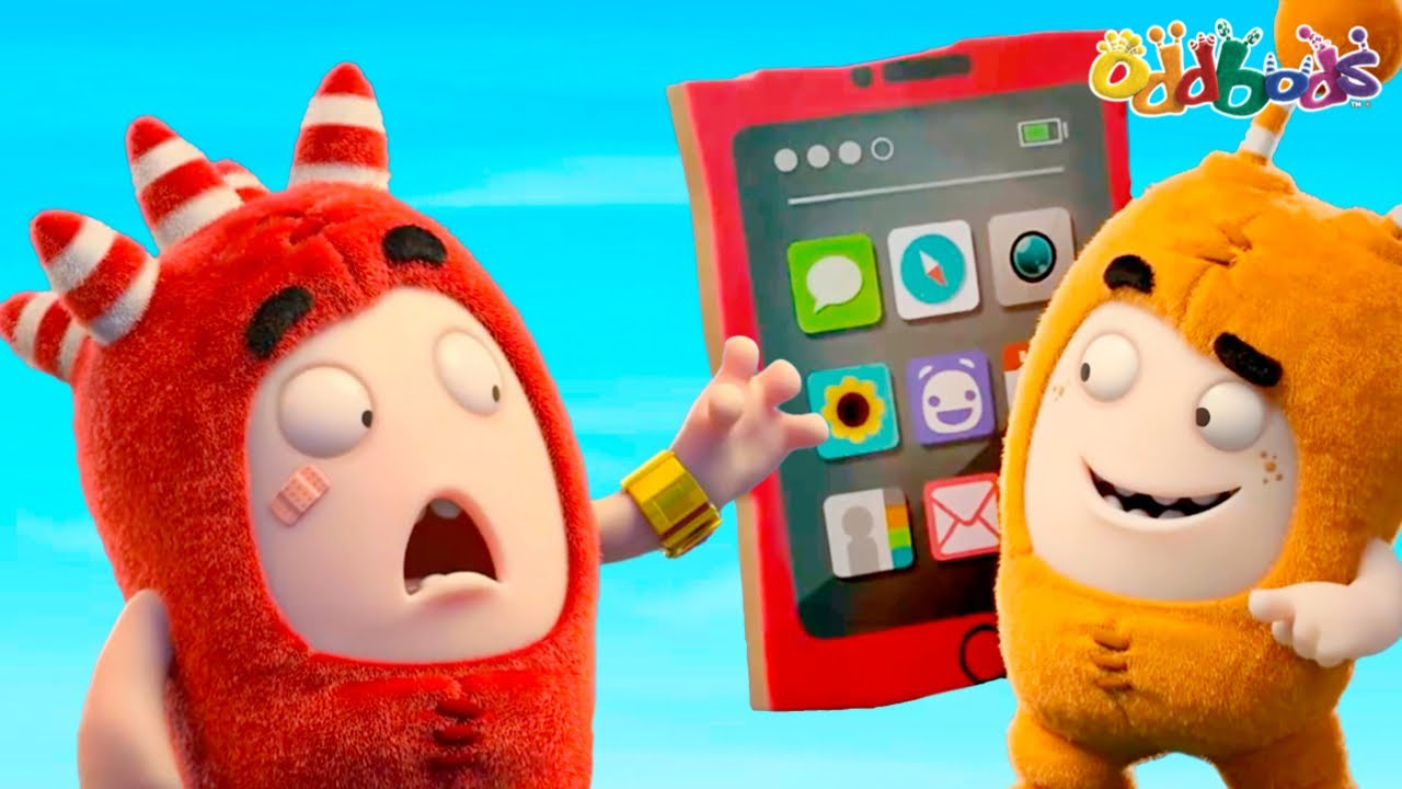 Oddbods | NEW | ONLINE SHOPPING WITH ME | Funny Cartoons For Kids