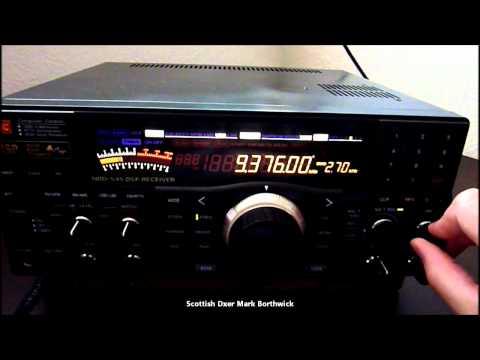 Shortwave NATO Psychological Operations Libya 9376khz Received In Scotland