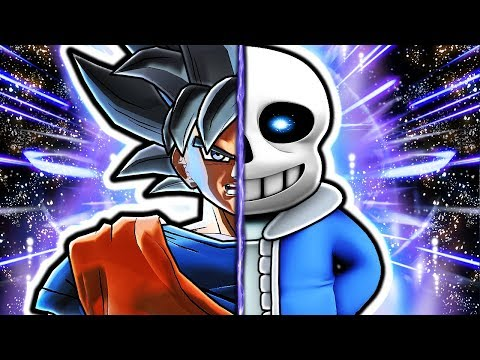 Dragon Ball Xenoverse 2 Genocide - Sans Vs Goku
