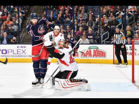 Game 21-Not Enough-Ottawa Senators vs Columbus Blue Jackets 2017-18