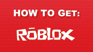 COMMENT À GET OLD ROBLOX LOGO