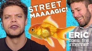 Sick Street Magic Trick! | ft. Jon and Joey from Vat19